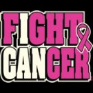 Fight Cancer Breast Cancer Awareness Tee Shirt