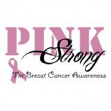 Pink and Strong Breast Cancer Awareness Tee Shirt