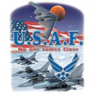 USAF No One Comes Close Air Force Tee Shirt