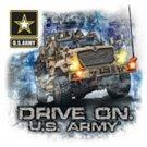 Drive On US Army Tee Shirt