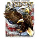 United States Army Support Our Troops Tee Shirt
