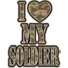 I Love My Soldier Tee Shirt