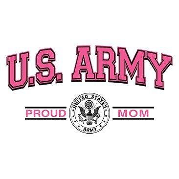 U.S. Army Proud Mom Tee Shirt