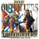 Dixie Outfitters Firefighters Tee Shirt