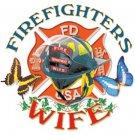 Firefighters Wife Tee Shirt