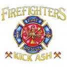 Firefighter Kick Ash Tee Shirt