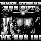 When Others Run Out We Run In Tee Shirt