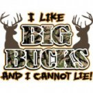 I Like Big Bucks and I Cannot Lie Tee Shirt