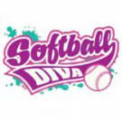 Softball Diva Tee Shirt