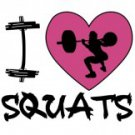 I Love Squats Tee Shirt