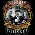 The Three Stooges Wiskey Cures What Ails You Tee Shirt