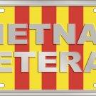 Vietnam Veteran License Plate