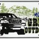 Ford The Great Outdoors License Plate