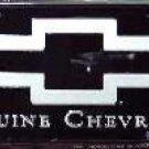 Genuine Chevrolet License Plate