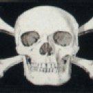 Skull and Cross Bones License Plate