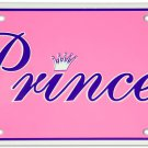 Princess License Plate