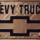 Chevy Trucks License Plate