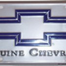Genuine Chevrolet License Plate