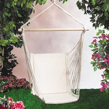 COTTON HAMMOCK SWING CHAIR