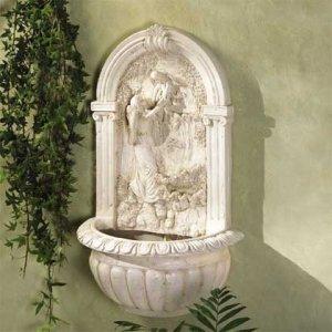 Gaurdian Angel Wall Fountain