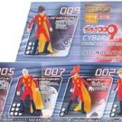 Bandai The Cyborg Soldier 009 Gashapon Capsule Figure Set of 5