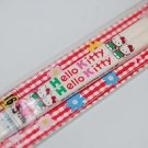 Sanrio Hello Kitty White Plastic Chopsticks 16.5cmL Made in Japan