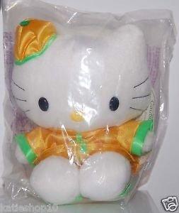 "1999 McDonald's Sanrio Hello Kitty Plush in China Constume 6""H"