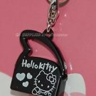 2009 Sanrio 35th Hello Kitty Charm Collection Black Shoulder Bag Pendant