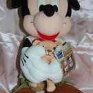 "2003 Sega Disney Mickey Mouse Prize Plush Doll UFO Catcher Prize 13""H"