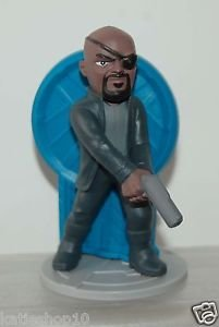 "7-11 Marvel Avengers Age of Ultron Figure w/ Magnet - Nick Fury 3.5""H"