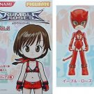 "Rumble Roses 3""H EVIL ROSES Plastic MINI Action Figure Konami Figumate Vol 1 NEW"