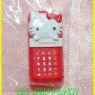 2005 Sanrio Bandai Retro Collection MINI Hello Kitty Magnet #5 Red Calculator