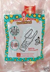 2001 McDonald's Happy Meal Toy Ronald Wizard - Apple Pie Wizmo Ronald
