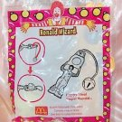 2001 McDonald's Happy Meal Toy Ronald Wizard - Happy Meal Tipper Ronald