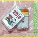 2005 Sanrio Bandai Retro Collection MINI Hello Kitty Magnet #12 Lunch Box Bento