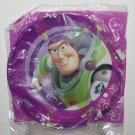 "Disney Pixar Toy Story 3 Buzz Light Year - 8"" Round Purple Plastic Plate"