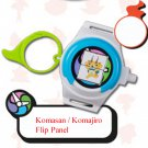 2016 McDonald's Happy Meal Toy Yo - Kai Watch Key Ring - Komasan / Komajiro Flip Panel