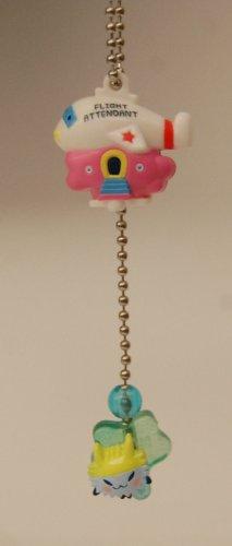 Bandai Tamagotchi Gashapon Capsule Toy Double Figure Key Chain - Togetchi Flight Attendant