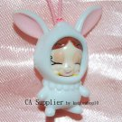 "Yujin The Genie Family Hakuhson 1""H Plastic Figure Strap Charm Mascot #1"