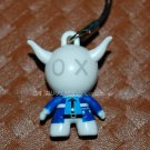"2009 Bandai PVC Hard Figure as Policeman Cell Phone Charm Strap Mascot Gashapon Capsule Toy 1.5""L #7"