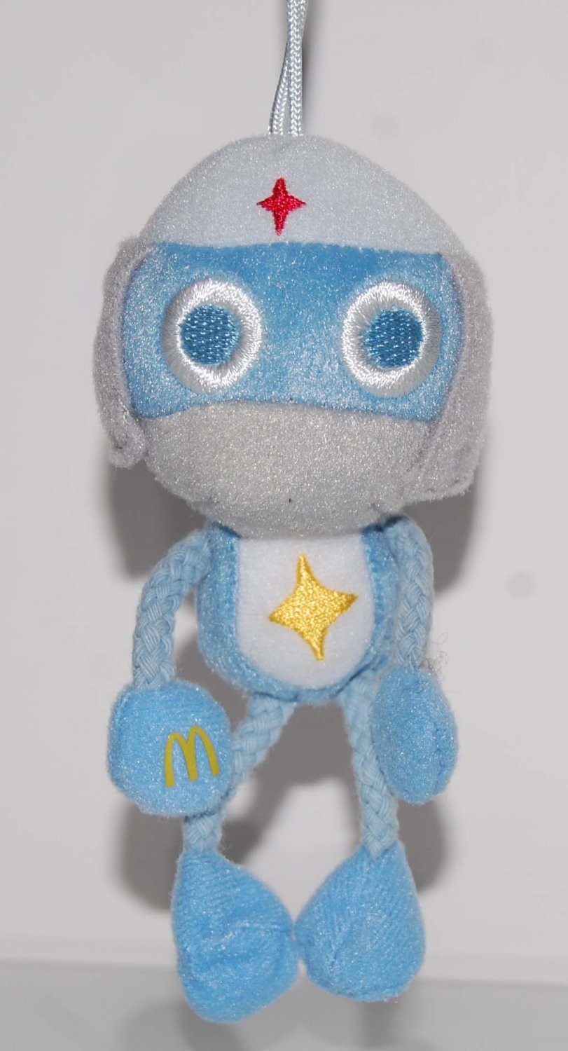 2006 McDonald's Happy Meal Toy Keroro Gunso Plush Strap w/ Magnetic Hands - Dororo