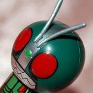 "2008 Plex Masked Rider Kokeshi Men Display Figure w/ Sucker Display Vol 1 #3 2.5""H"