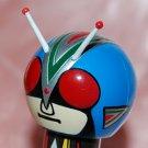 "2008 Plex Masked Rider Kokeshi Men Display Figure w/ Sucker Display Vol 1 #6 2.5""H"
