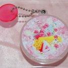 "Yujin Disney Princess AURORA Round Mirror Key Chain Gashapon Capsule Toy 2""dim"