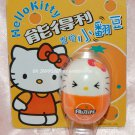 "2004 Sanrio Frutips Hello Kitty Orange Fruit Tumbler 1.5""H"