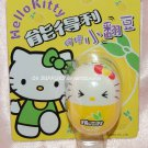 "2004 Sanrio Frutips Hello Kitty Yellow Lemon Fruit Tumbler 1.5""H"