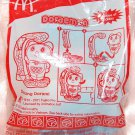 2011 McDonald's Happy Meal Toy Doraemon - Dancing Dorami w/ Sticker