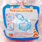 2005 Sanrio McDonald's Happy Meal Toy The Runabouts Soft Figure Key Ring - Fire Engine