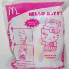 2014 McDonald's Sanrio Happy Meal Toy Hello Kitty Vocalist w/ Stickers