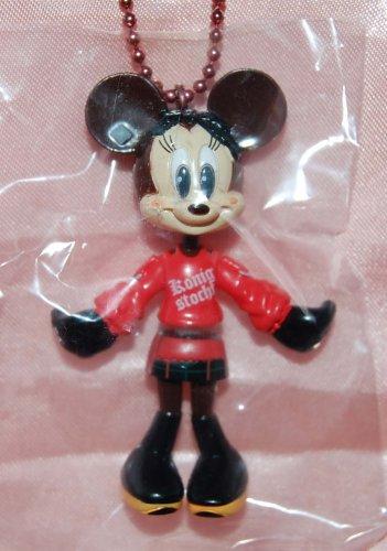 "Yujin Disney Mickey Mouse Minnie ""Minnie Up"" Key Chain Mascot Gashapon Capsule Toy 2.75""H #1"